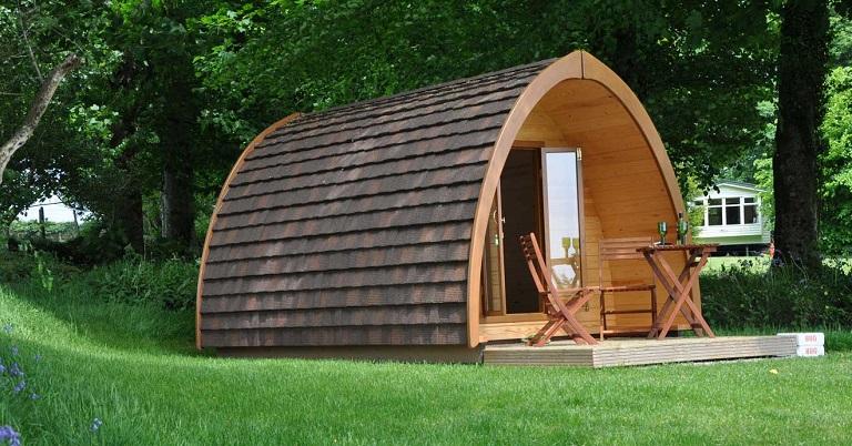 Nhà gỗ di động được thiết kế tỉ mỉ