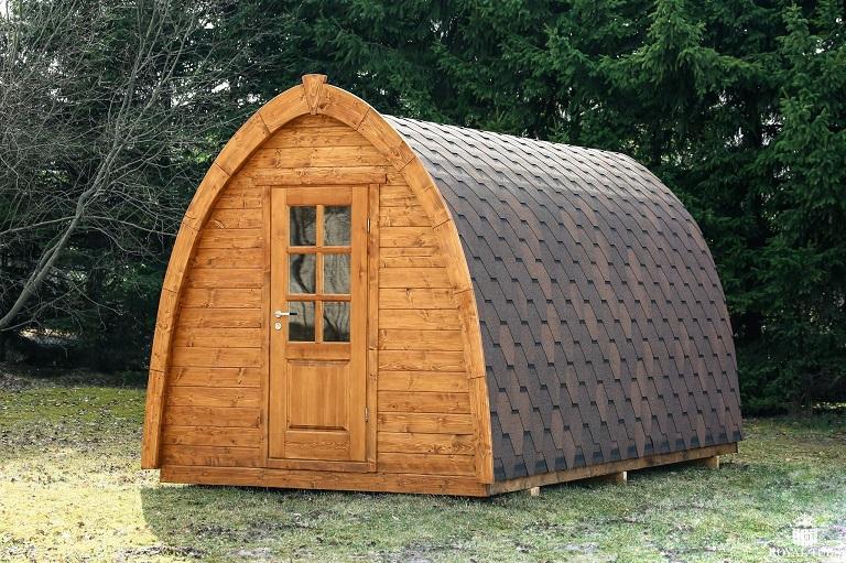 Nhà gỗ di động có thể đặt ở bất cứ nơi đâu