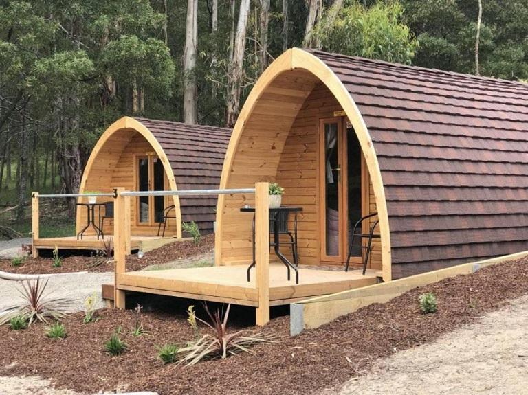 Nhà gỗ di động cho Homestay là loại hình mang lại hiệu quả kinh doanh cao