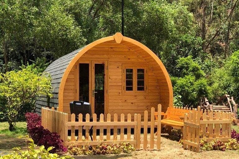 Mẫu nhà gỗ Homestay