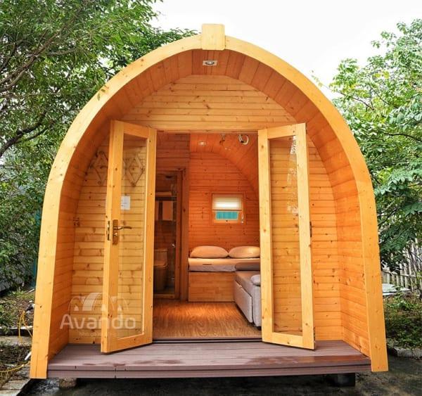 Nhà gỗ thông minh với chi phí chỉ từ 140 triệu đồng
